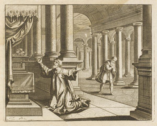 THE PUBLICAN AND THE PHARISEE IN THE TEMPLE