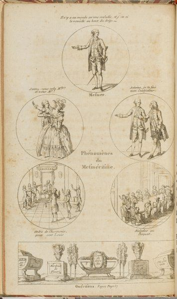 A page from Phenomeres de Mesmerisme