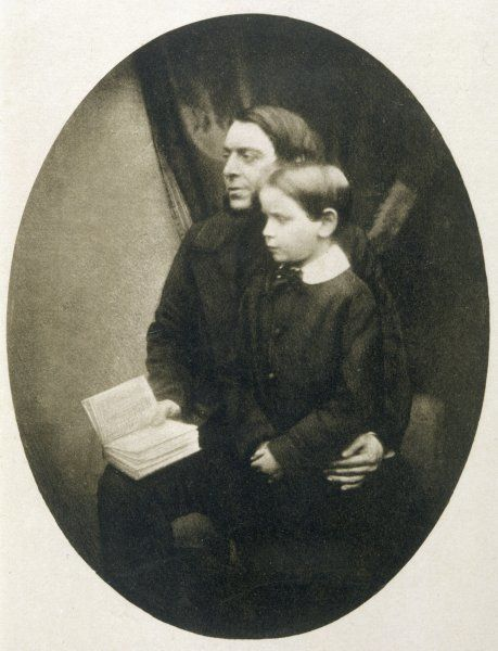 PHILIP HENRY GOSSE naturalist, with his son Edmund