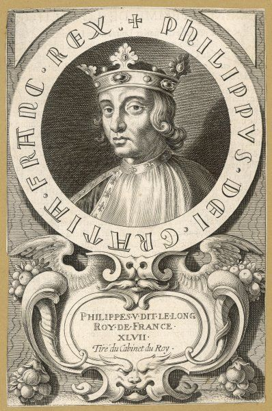PHILIPPE V LE LONG King of France