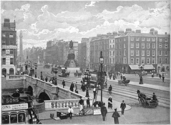 A general view in Dublin