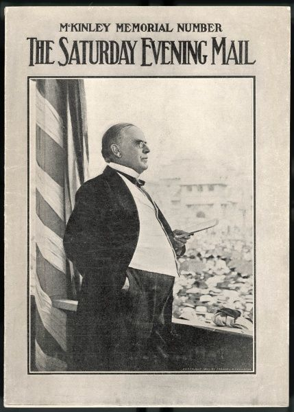 WILLIAM MCKINLEY The U.S. Presidents last public address in New York the day before his shooting