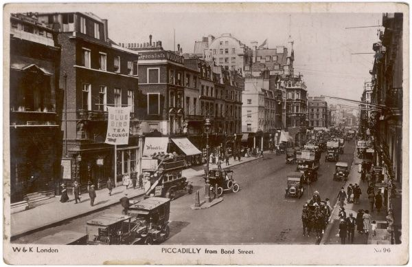Piccadilly, viewed from Bond Street
