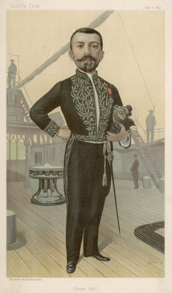PIERRE LOTI alias Louis-Marie-Julien VIAUD French naval officer and novelist