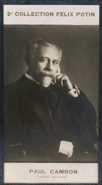 PIERRE-PAUL CAMBON French diplomat