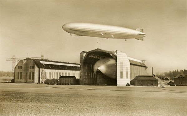 The Graf Zeppelin and LZ 129, Hindenburg