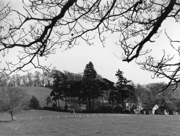 Plas Meredith, Montgomeryshire, Wales. Date: 1960s