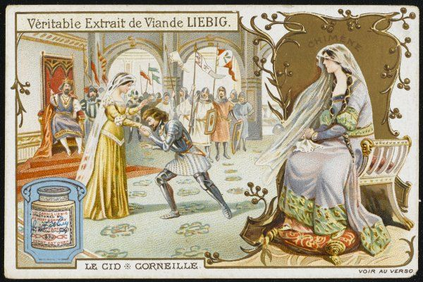 A scene from Le Cid written by the French playwright Pierre Corneille