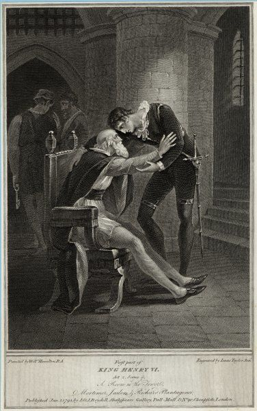 Act II, Scene V Richard Plantagenet gives support to Mortimer in the Tower