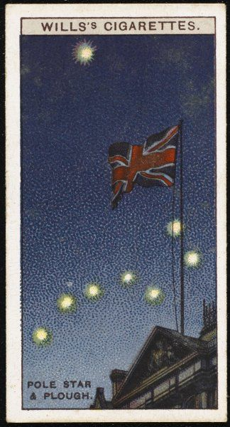 The constellation of the PLOUGH, and the POLE STAR