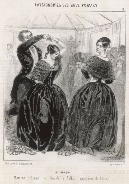 The Polka Quadrille - the polka at its most restrained, unlikely to offend the older generation