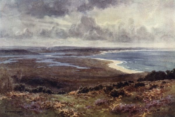 Poole Harbour, from Studland Date: circa 1910