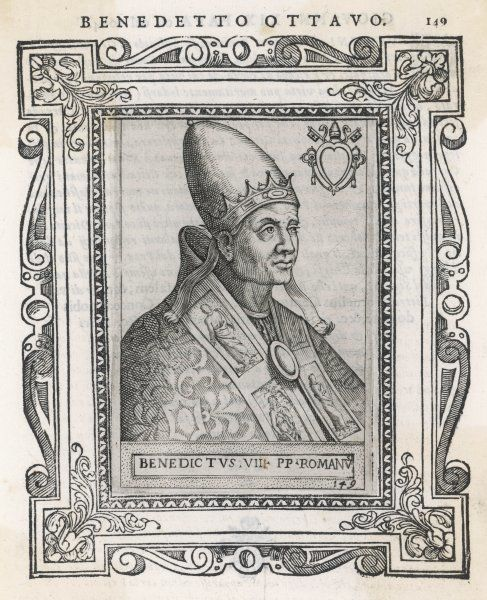 POPE BENEDICTUS VIII (Theophylactus, son of the Count of Tusculum)