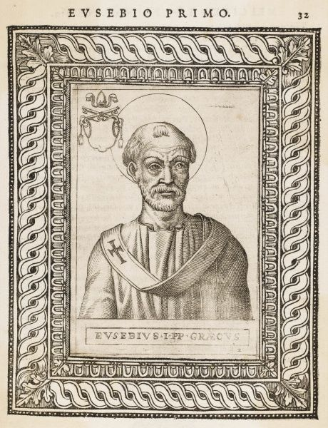 POPE EUSEBIUS pope and saint