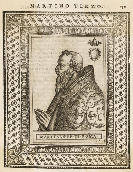 POPE MARTINUS III (sometimes known as Martinus II)