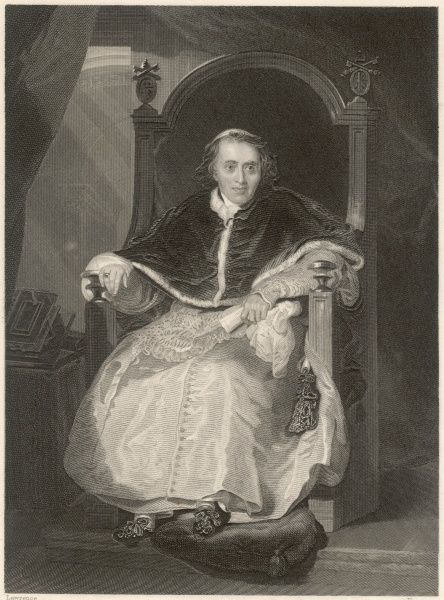 POPE PIUS VII (Luigi Barnabo Chiaramonti) He signed Concordat with Napoleon, but later quarreled with him and was arrested by the French
