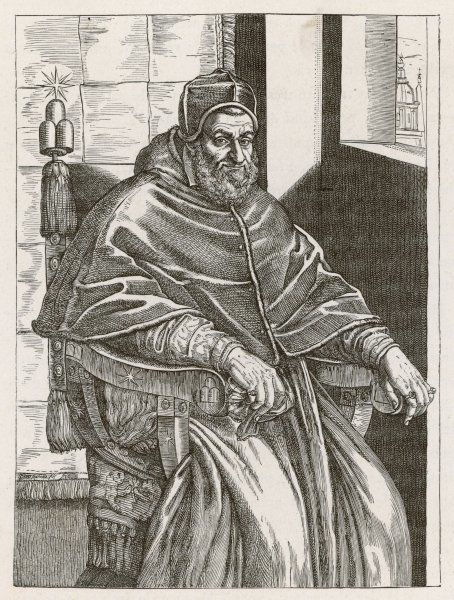 POPE SIXTUS V (Felice Perretti) He established the present papal administrative system