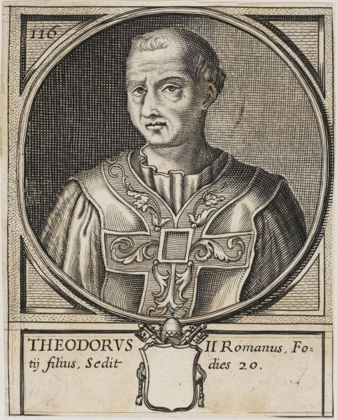 Pope Theodorus II Pope for twenty days during December 897 before he died