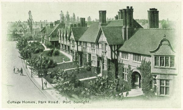 PORT SUNLIGHT Cottage Homes in Park Road