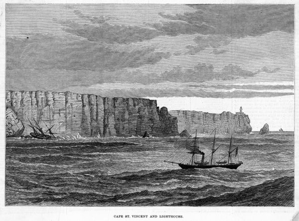 (aka Cape St Vincent) anciently regarded as the furthest point of Europe, and indeed, of the known world. The British defeated a Spanish fleet here in 1797