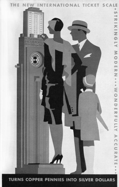 Poster to enhance travel sales Date: 1930