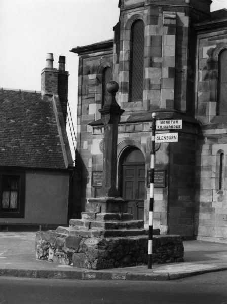 The old Market Cross, dating from 1473, at Prestwick, Scotland. Date: 15th century
