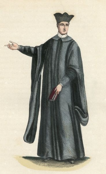 Priest of the ORATORY - in France Date: 1848