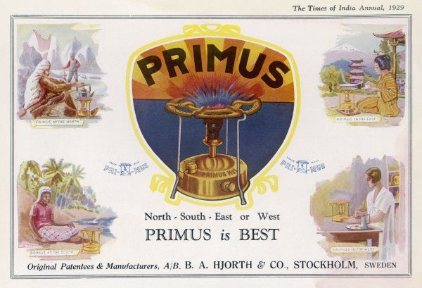 THE PRIMUS STOVE North, South,East or West Primus is best