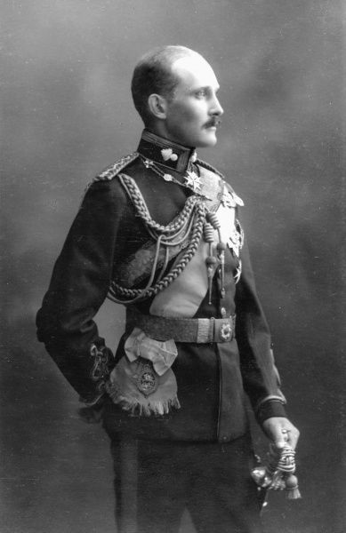 Prince Arthur of Connaught (1883-1938), son of the Duke of Connaught, pictured in military uniform