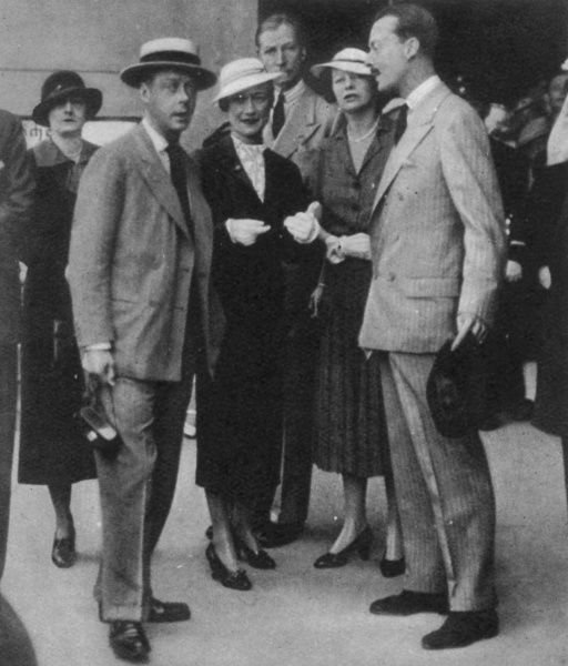 Prince Edward and Wallis Warfield Simpson on a Royal Cruise