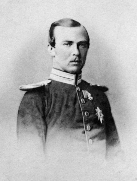 Prince Louis (Ludwig) of Hesse-Darmstadt (1837-1892), later Grand Duke of Hesse, husband of Princess Alice, second daughter of Queen Victoria