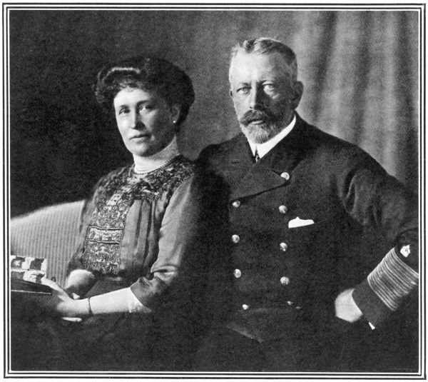 Prince Henry (Heinrich) of Prussia (1862 - 1929), younger brother of Kaiser Wilhelm, pictured with his wife, Princess Irene of Hesse-Darmstadt (1866 - 1953), third daughter of Princess Alice of Hesse-Darmstadt, pictured together at the time