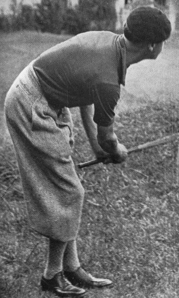 The Prince of Wales (later King Edward VIII and Duke of Windsor), dressed in an outfit of plus fours and beret which his father would most certainly not have approved of, playing golf on the Chiberta golf links at Biarritz while on holiday. Date