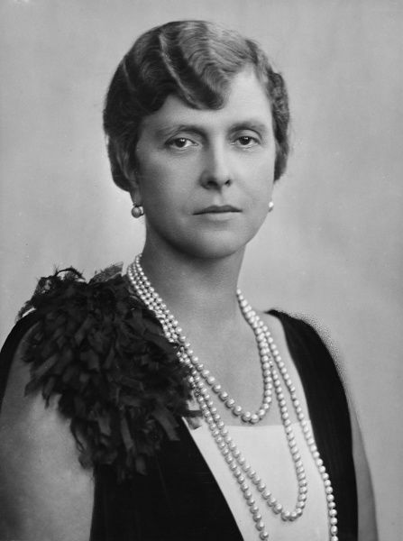 Princess Andrew of Greece, formerly Princess Alice of Battenberg or Mountbatten (1885 - 1969), great granddaughter of Queen Victoria and wife of Prince Andrew of Greece. Mother of Prince Philip, Duke of Edinburgh