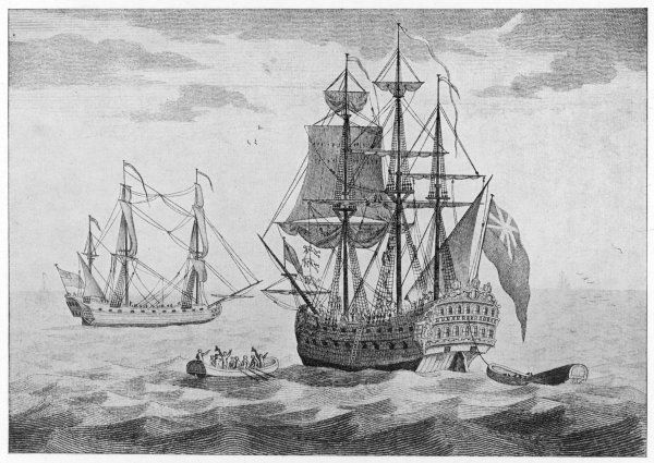 'Duke', the ship in which Captain Woodes Rogers made his global expedition, harassing Spanish shipping, and finding Alexander Selkirk on the isle of Juan Fernandez