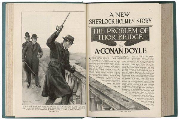The Problem of Thor Bridge - a Sherlock Holmes story by Arthur Conan Doyle