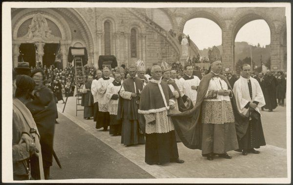 Procession of priests