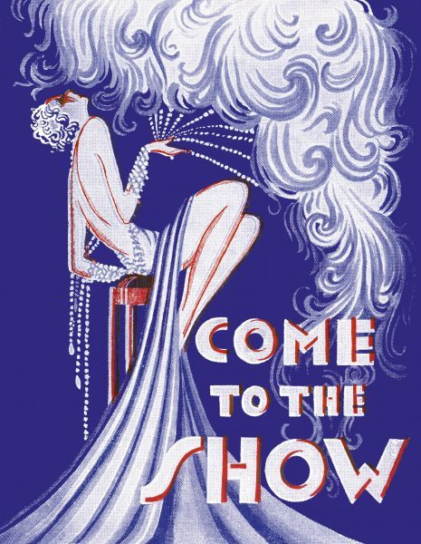 Programme cover for Come to the Show, UK, 1930s Date: 1930s