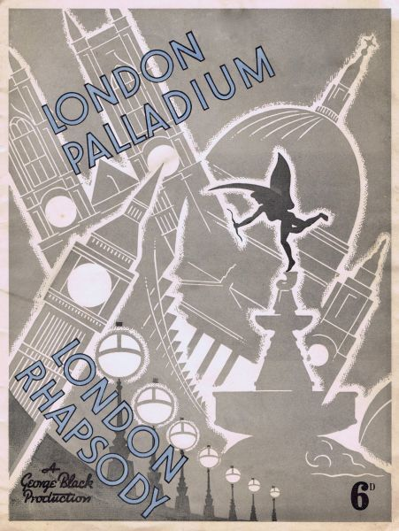 Programme cover for London Rhapsody staged at the London Palladium, London, 1937 Date: 1937