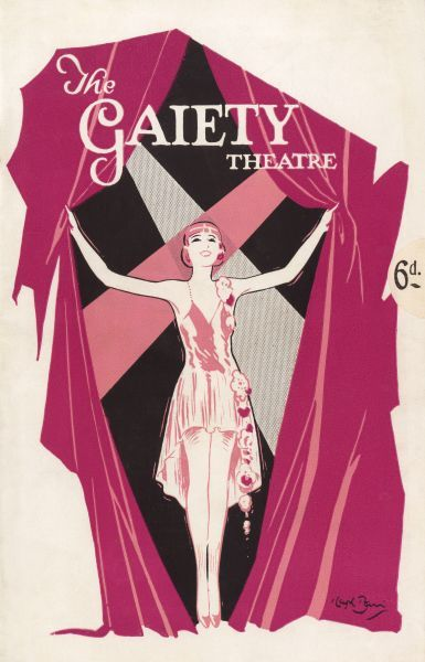 Programme cover for Love Lies, at the Gaiety Theatre, London, 1929 Date: 1935