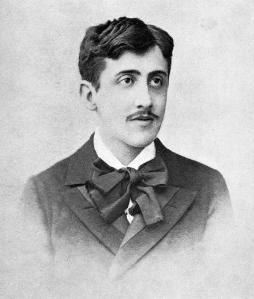 MARCEL PROUST aged about 20 Date: 1871 - 1922