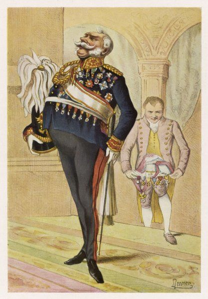 Prussian General: a satirical view