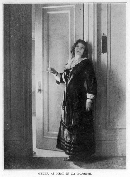 Nellie Melba as Mimi
