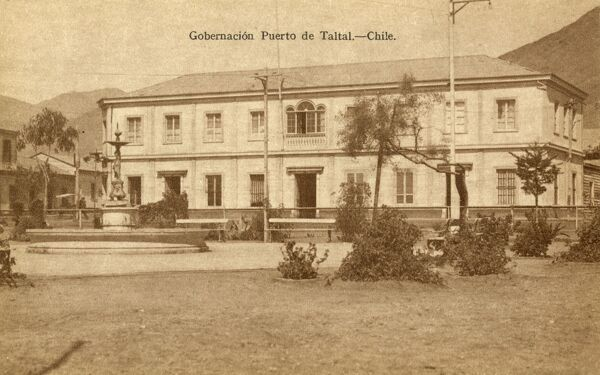 Puerto Taltal, Chile - The Governership Date: circa 1920s