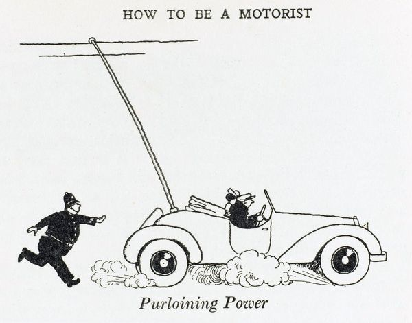 With petrol prices rising, a motorist (with the correct accessory attached) can run his car on electricity at the expense of the local trolleybus company