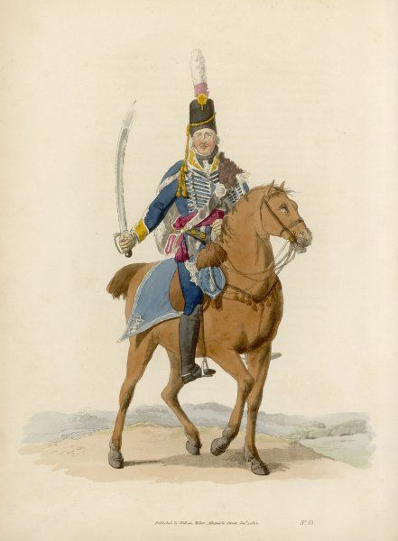 A DRAGOON An officer of the Tenth, or Prince of Wales's Dragoons
