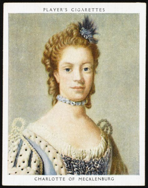 CHARLOTTE OF MECKLENBURG Queen to George III