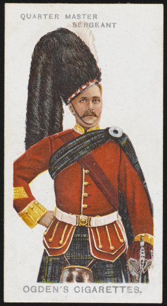 Argyle and Sutherland Highlanders (Princess Louise's). A Quarter Master Sergeant