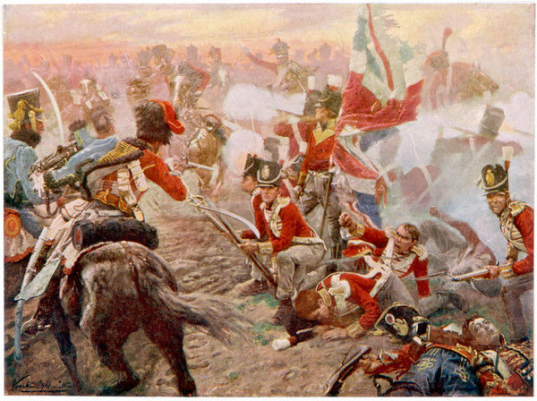 Wellington defeats Ney at QUATRE BRAS, foiling Napoleon's plan to prevent the joining of the British and Prussian armies