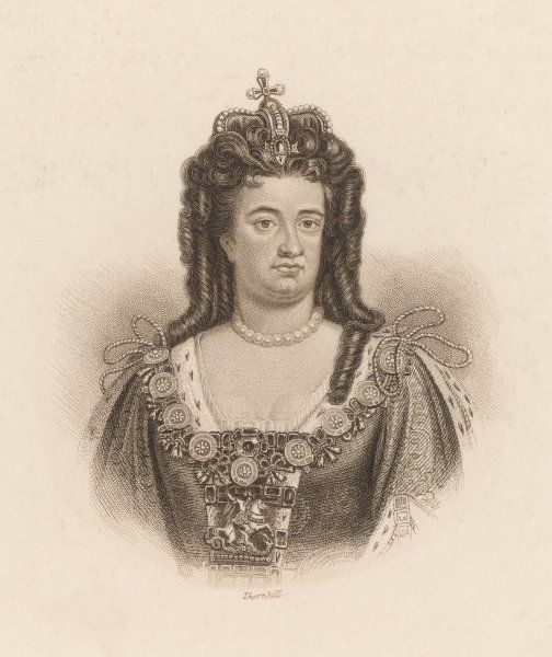 QUEEN ANNE Reigned from 1702